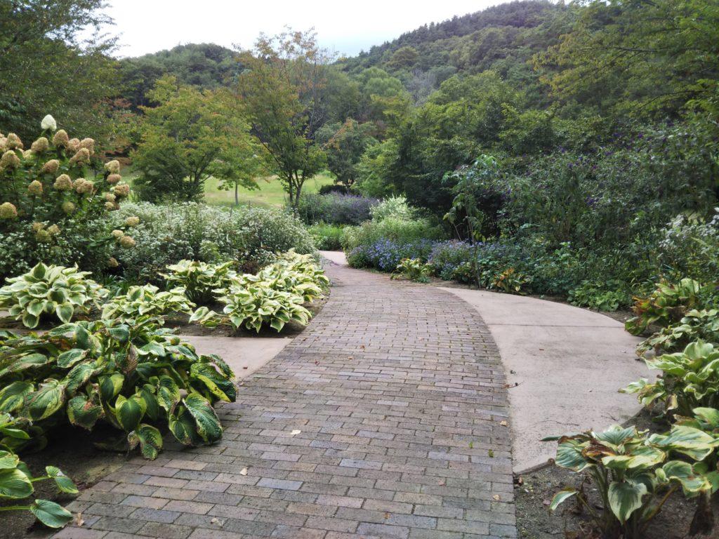 宿根草ガーデン