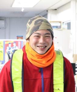 笑顔の金井昇平