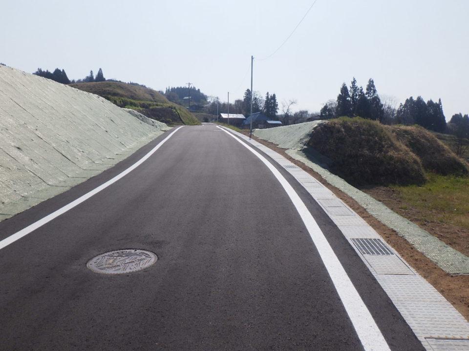 信更21号線道路改良工事